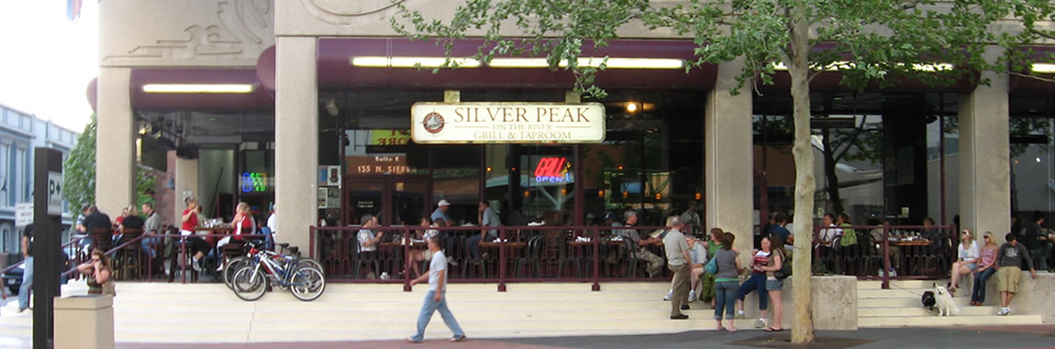 Silver peak happy hour