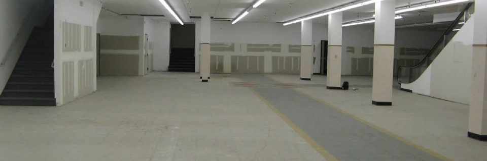 Woolworth's Building in downtown Reno getting Bowling Alley